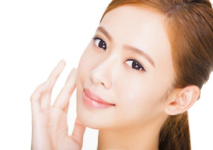 Beautiful  young woman with clean fresh skin