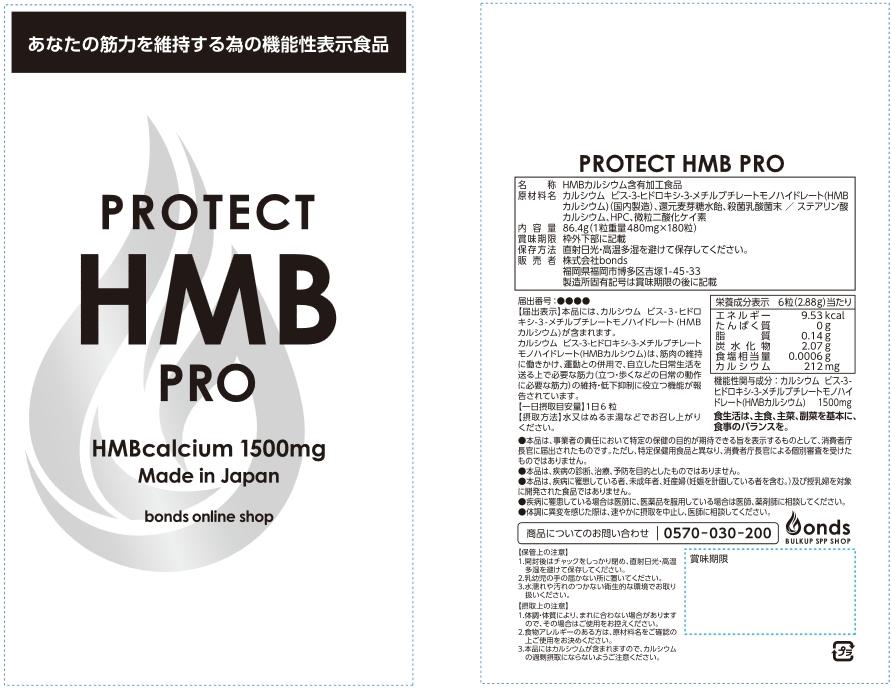 PROTECT HMB PRO(プロテクト エイチエムビー プロ)
