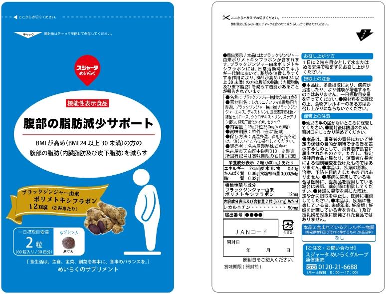腹部の脂肪減少サポート