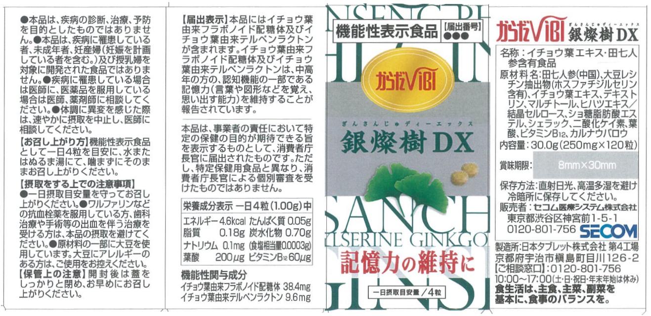 銀燦樹DX(ディーエックス)