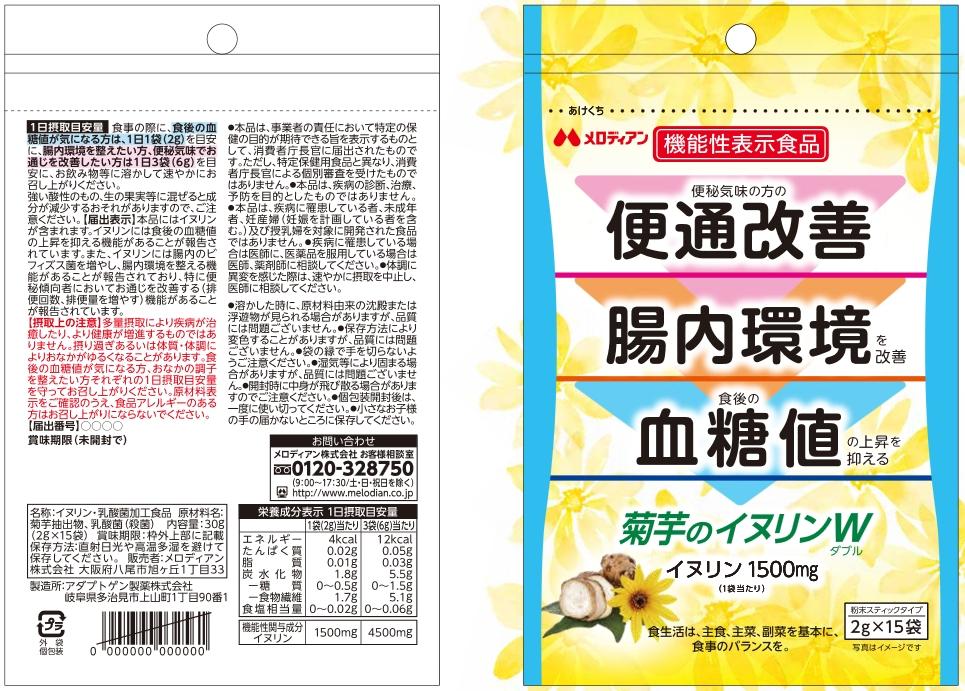 菊芋のイヌリンW(ダブル)
